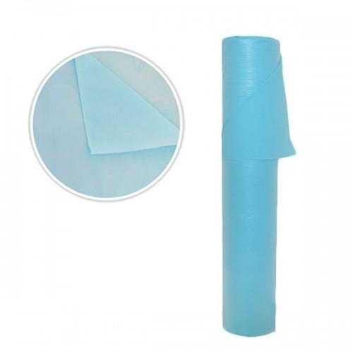 Еднократни чаршафи в син цвят SB125 - Непромокаеми