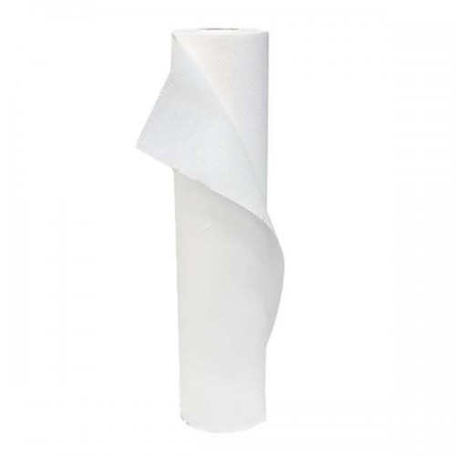 Бели двупластови хартиени чаршафи - 68см - SA117