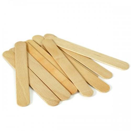 Шпатули за кола маска, дървени - 100 бр.