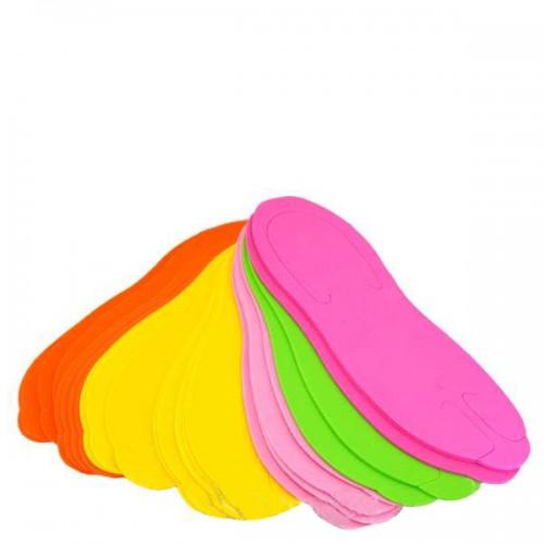 Еднократни чехли за педикюр, цветни