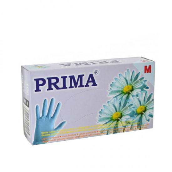 Нитрилни ръкавици за еднократна употреба - 100 бр. - сини