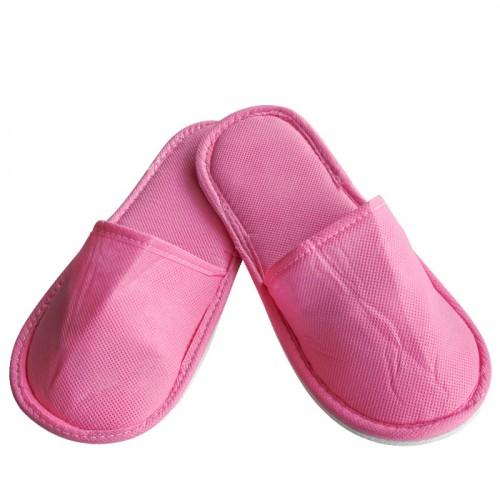 Чехли от нетъкан текстил, универсален размер - Розов цвят