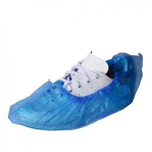 Сини еднократни калцуни от полиетилен B102