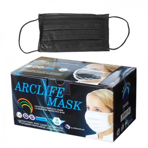 Маски за еднократно ползване Arclife mask, 50 броя
