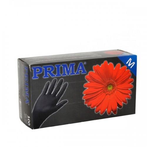 Черни ръкавици от нитрил 100бр. в кутия