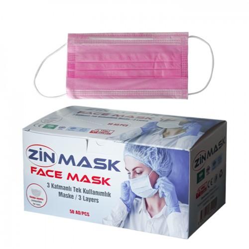 Маски за еднократно ползване Zin mask, 50 броя