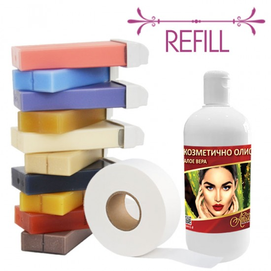 Професионален пакет за кола масака – Refill