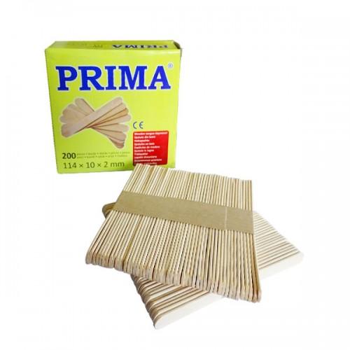 Дървени шпатули Prima за кола маска 200 броя