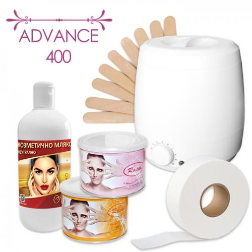 Комплект за епилация с топла кола маска – Advance 400