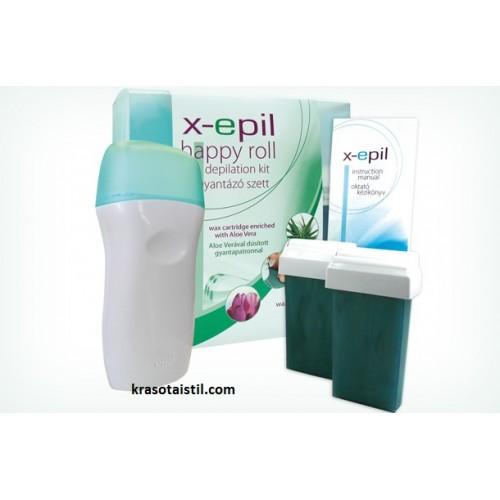 Комплект за епилация - X-Epil happy Roll